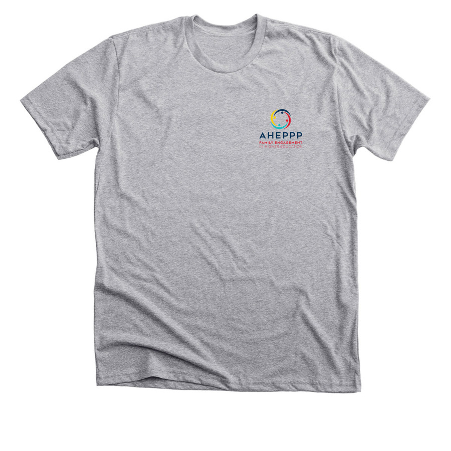 tee shirt with AHEPPP logo