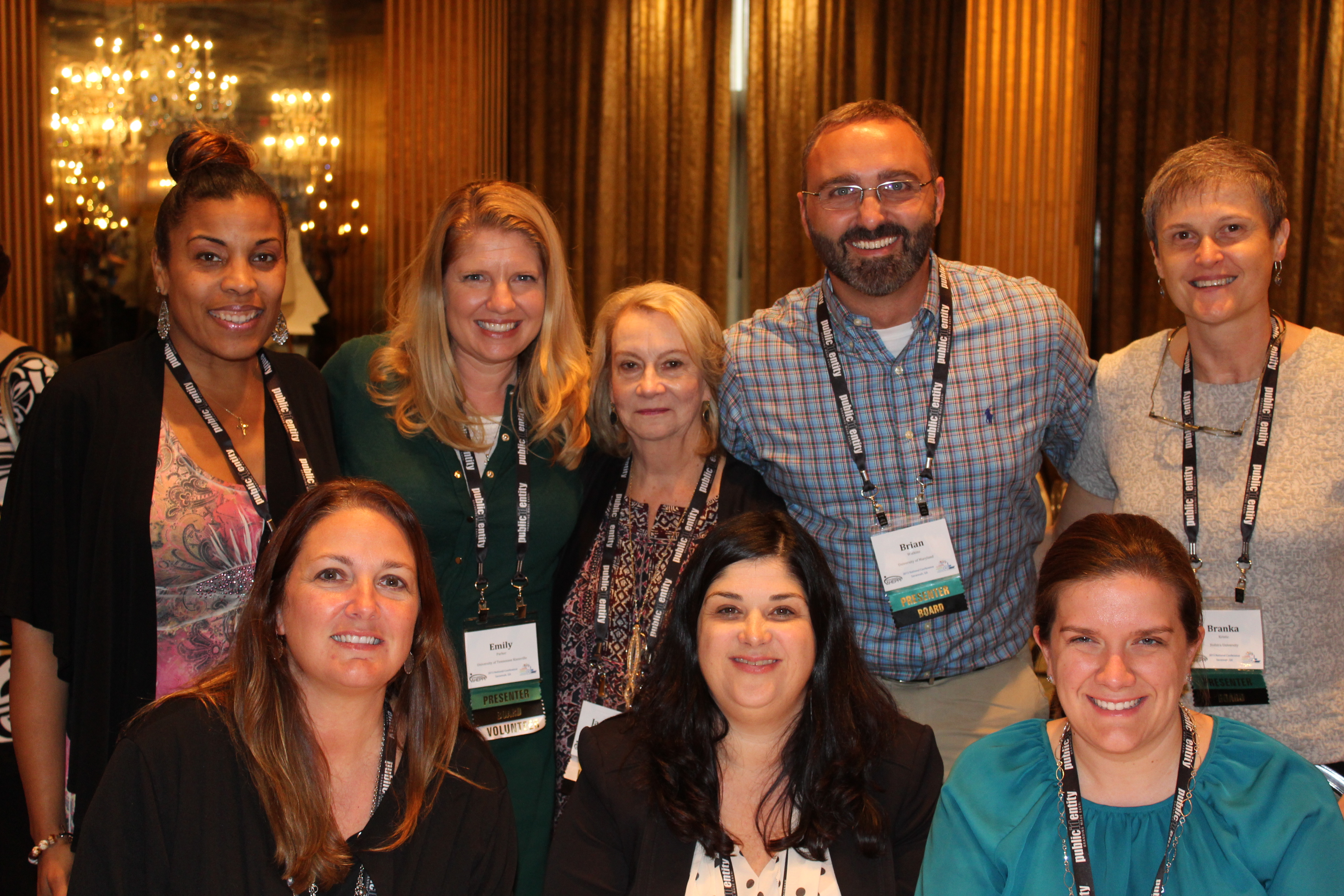 The AHEPPP Board of Directors celebrates AHEPPP Awards at the 2015 National Conference